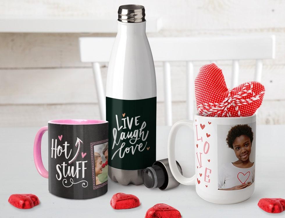 Photo mugs make perfect gifts