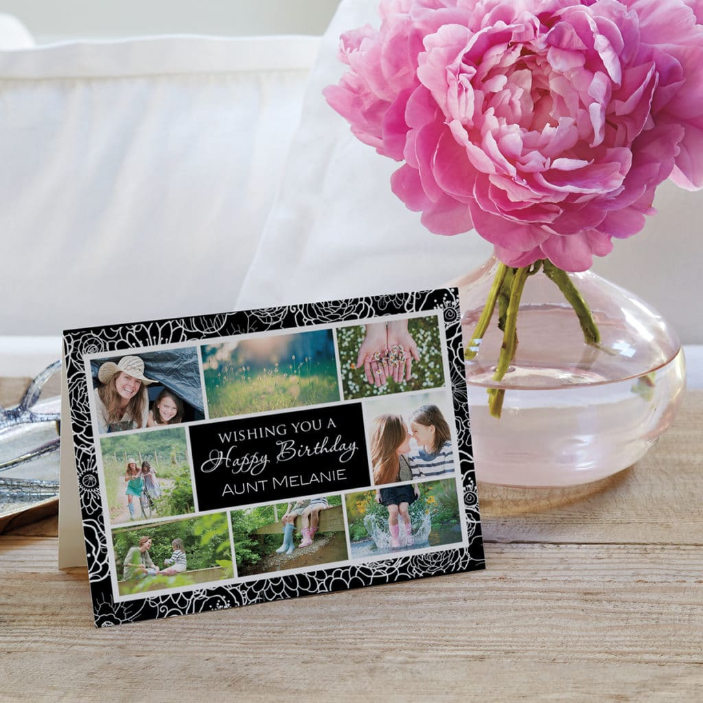 Birthday Greetings Glossy finish Sentiments Sign Post Style Card Toppers