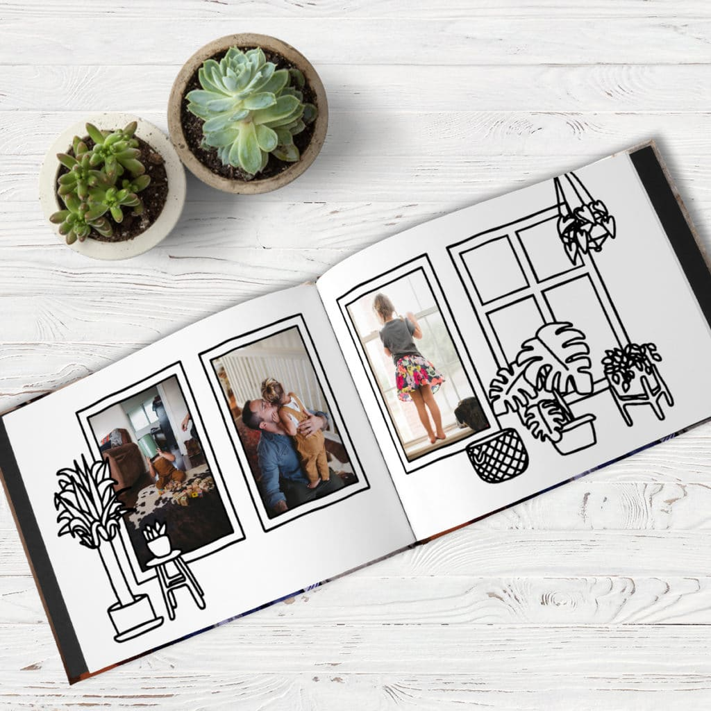 Color your favorite memories with the Social Distancing Photo Book