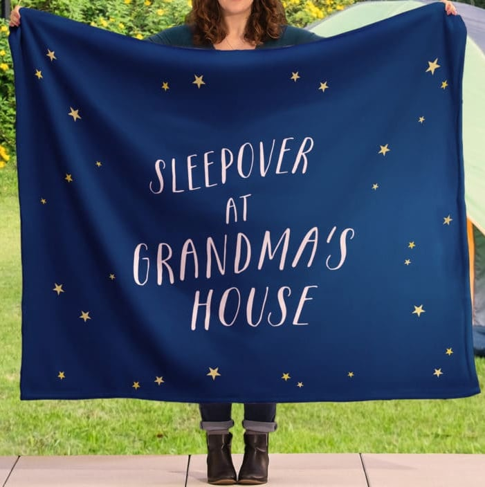 Sleepovers are more fun with personalized photo blankets