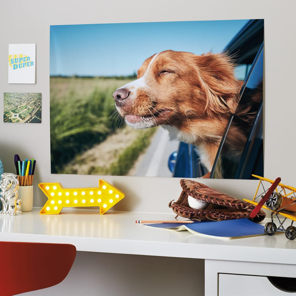 Create custom canvas prints of treasured holiday or vacation memories