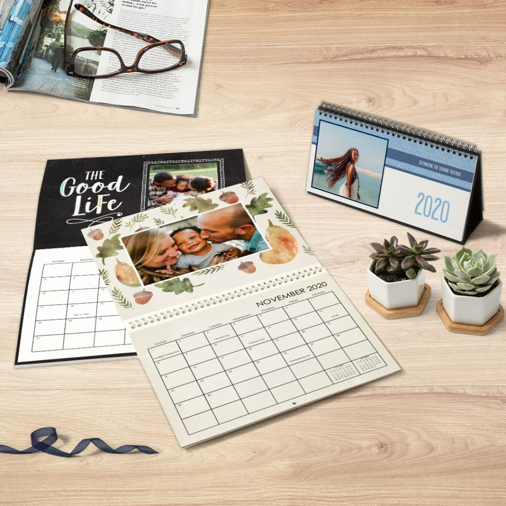Create eye catching calendars to keep track of key events