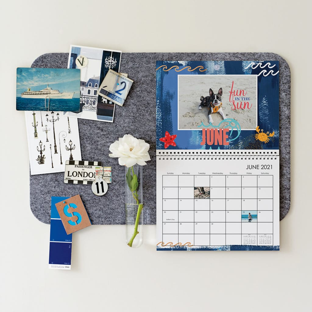 Add photos to special dates in your calendar at no extra cost