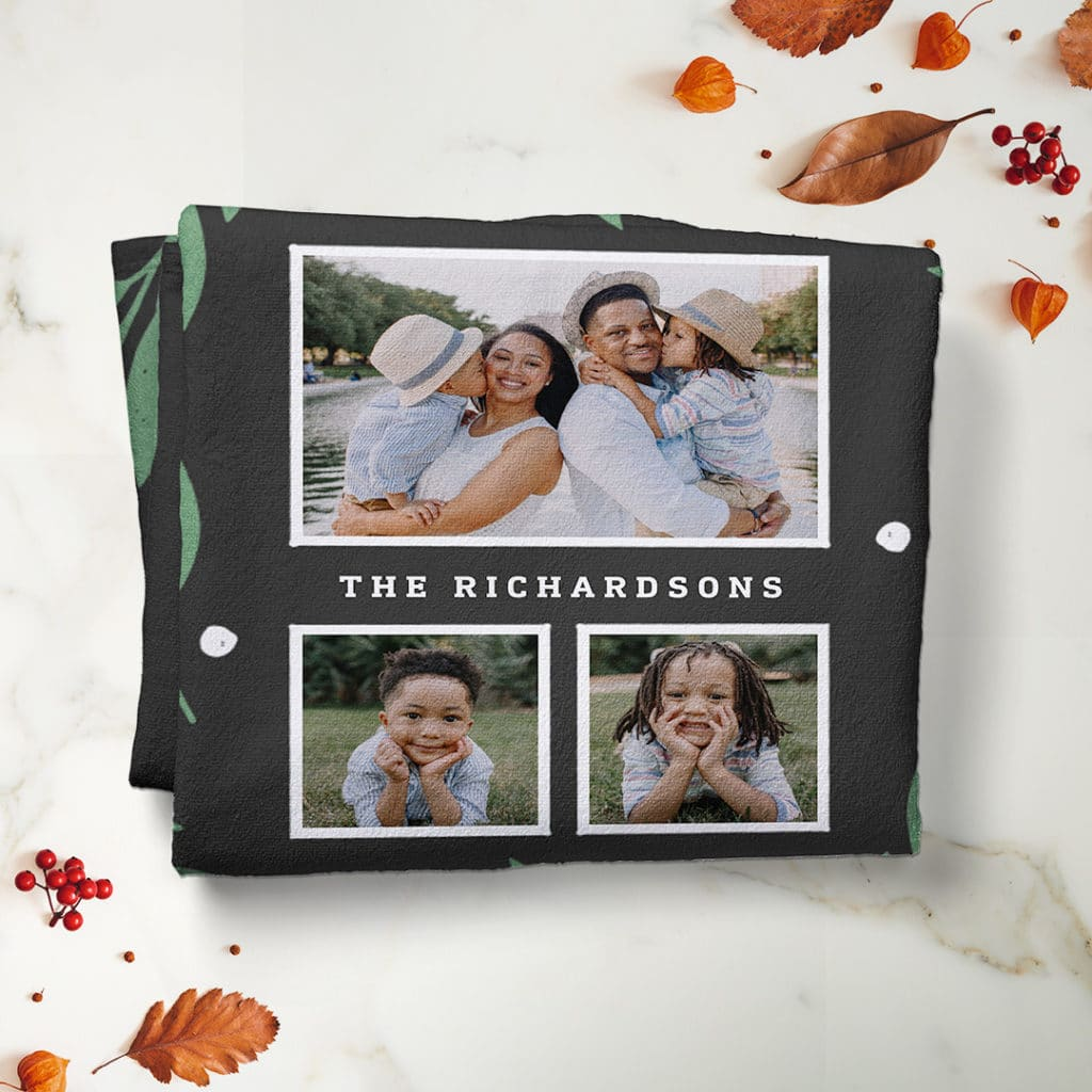 Choose from a wide array of design layouts, add photos and create personalized photos in minutes
