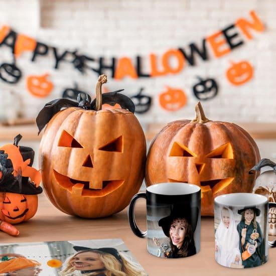 Create custom Halloween fun with photo gifts
