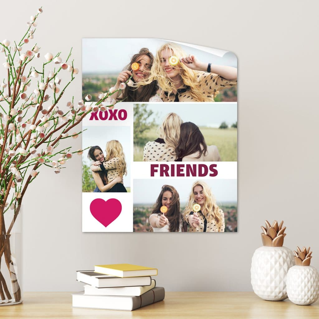 Large size print photo collage