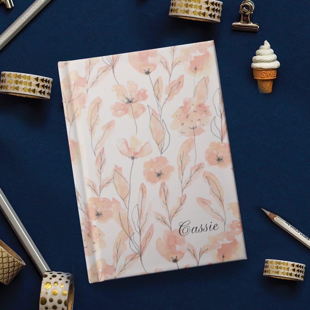 hardcover noteboook